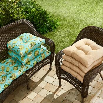 Indoor/Outdoor Seat Pad and Cushion Sets