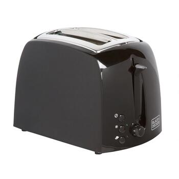 Black + Decker Black 2-Slice Toaster