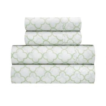 Traditions by Waverly® Framework Microfiber Sheet Set