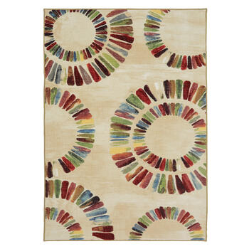 "7'5""x10' Mohawk Home Colorful Medallions Area Rug view 1"