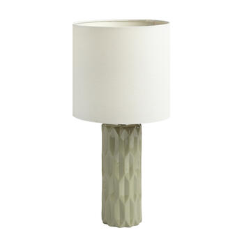 "19.75"" Honeycomb Cylinder Table Lamp view 1"