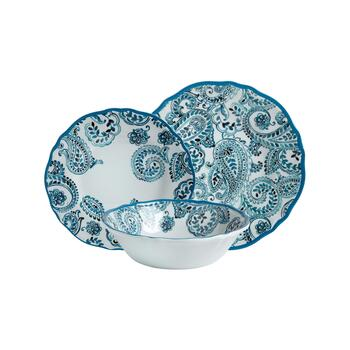 Gypsy Collection Paisley Melamine Dinnerware