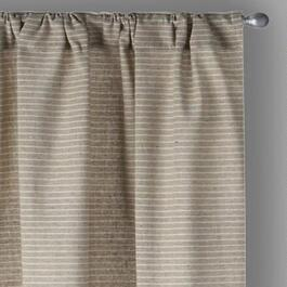 The Grainhouse™ Gray Striped Window Curtains, Set of 2