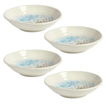 """Milan"" Ceramic Pasta Bowls, Set of 4 view 2"