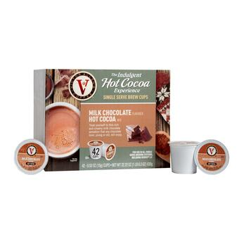 Victor Allen's® Milk Chocolate Hot Cocoa Pods, 42-Count