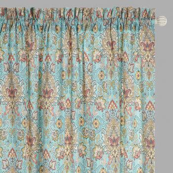 Traditions by Waverly® Opal Rod Pocket Window Curtains, Set of 2