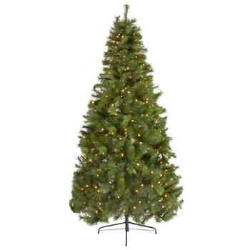 6.5' Pre-Lit Scotch Pine Artificial Tree