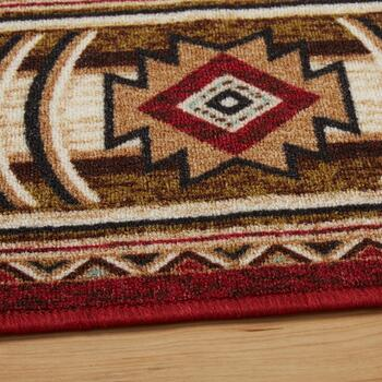 5'x7' Lodge Landscape Area Rug view 2