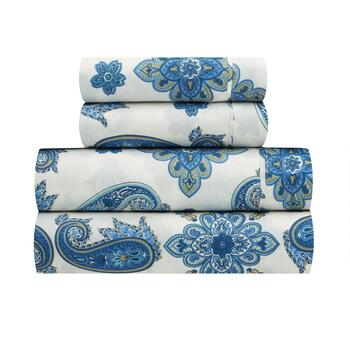 Traditions by Waverly® Talcott Twirl Microfiber Sheet Set