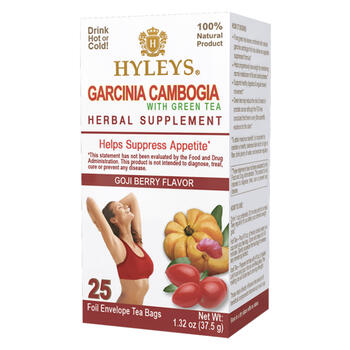 Hyley S Garcinia Cambogia Goji Berry Green Tea 25 Count