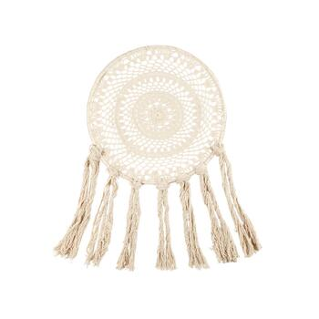 "The Grainhouse™ 24""x39"" Round Macramé Wall Decor"