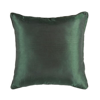 Green Tile Square Throw Pillow view 2