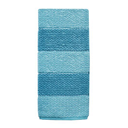 Aqua Heather Ombre Kitchen Towel view 1