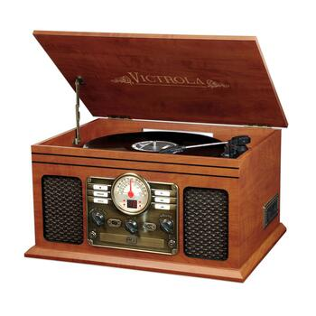 Victrola Nostalgic 5-in-1 Turntable/Music Center