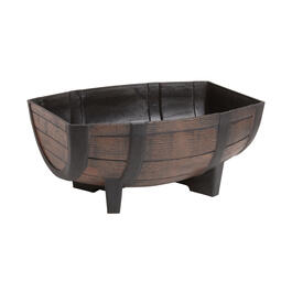"16"" Whiskey Barrel Plastic Planter view 1"