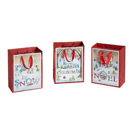 Country Friends Assorted Holiday Gift Bag Set, Set of 6 view 1
