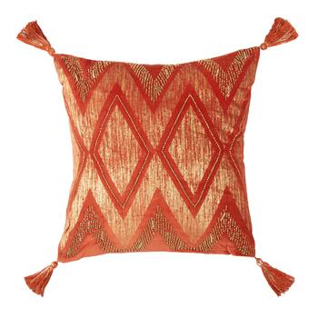 "Fall Chevron Mtlc 18"" Or"