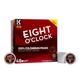 Keurig® Eight O'Clock® 100% Colombian Peaks Coffee Pods, 48-Count