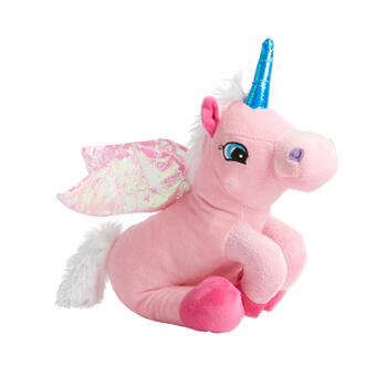 Unicorn Squeaker Plush Pet Toy view 1