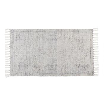 "The Grainhouse™ 27""x45"" White Chenille Area Rug"