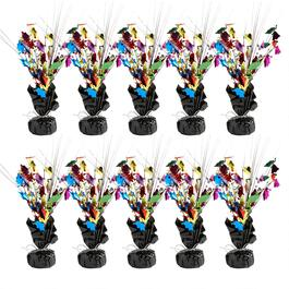 Graduate Caps Weighted Centerpieces, Set of 10