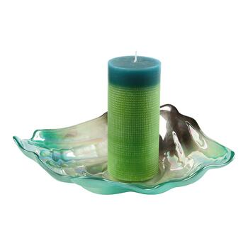 Pearl Shell Glass Candle Holder view 2