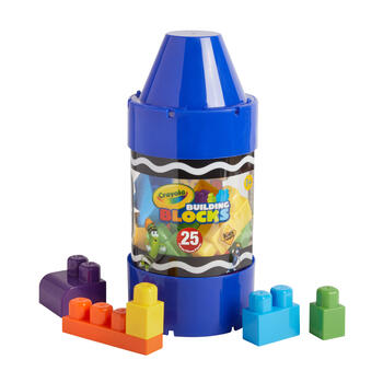 Crayola® Building Blocks Play Set, 25-Piece view 1