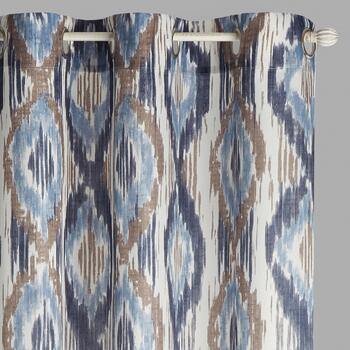 "84"" Crawford Santia Grommet Window Curtains, Set of 2"