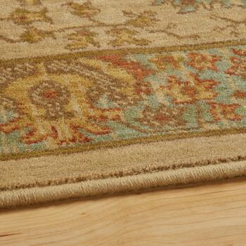 3'x5' Mohawk Home Brown Traditional Wool Accent Rug view 2
