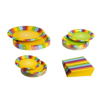 Poolside Paper Goods Dinnerware Set