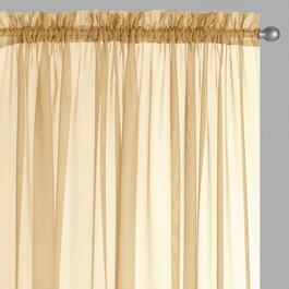 Voile Window Curtains, Set of 2