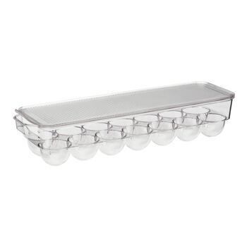 Clear Egg Holder Bin with Lid