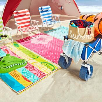 Beach Towels & Totes