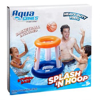 Aqua Leisure™ Splash 'N Hoop Inflatable Pool Game view 2