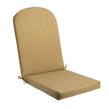 Solid Brown Indoor/Outdoor Adirondack Chair Pad