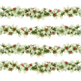 5' Holly Berry Garlands, Set of 2 view 1