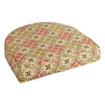 Desert Tile Indoor/Outdoor Gusset Seat Pad