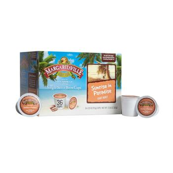 Margaritaville® Sunrise in Paradise Coffee Pods, 4 Boxes