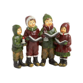 "6"" Children Christmas Carolers"