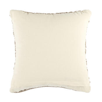 The Grainhouse™ Geo Macrame Square Throw Pillow view 2