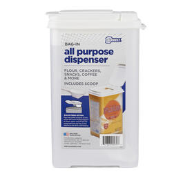 3.75 Quart Bag-In All Purpose Dispenser with Scoop view 1