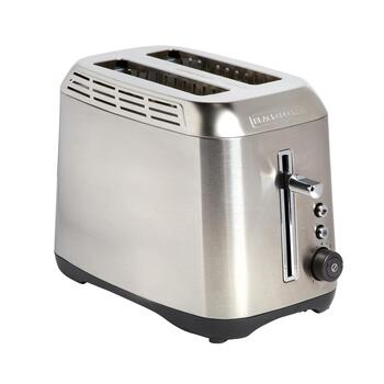 Black + Decker Stainless Steel 2-Slice Toaster