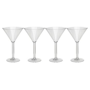 Tritan Martini Glasses, Set of 4