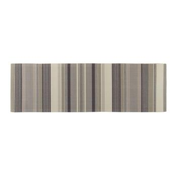 "Waverly® 4'4""x6'11"" Cream/Gray Striped Indoor/Outdoor Area Rug view 2 view 3"