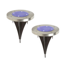 Solar Landscape Path Stake Lights, Set of 2 view 1