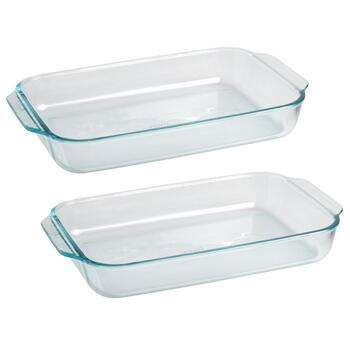 Pyrex® 3-Qt. Glass Baking Dishes, Set of 2