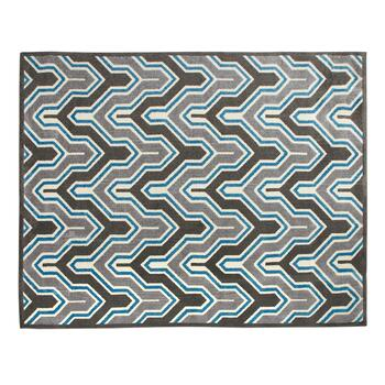 8'x10' Geneve Blue/Gray Area Rug