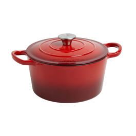 4-Quart Covered Cast Iron Dutch Oven view 1