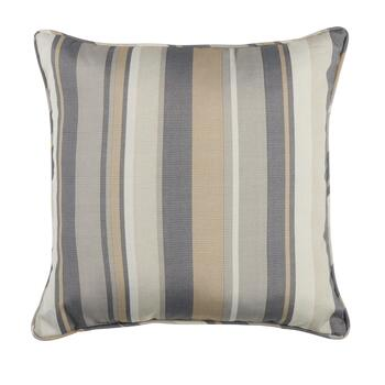 Traditions By Waverly Striped Indoor Outdoor Floor Cushion