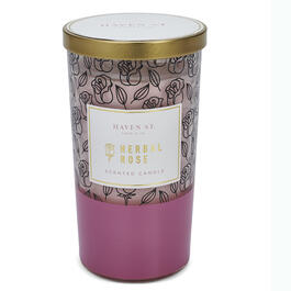 Haven Street Candle Company Herbal Rose Scented Candle view 1